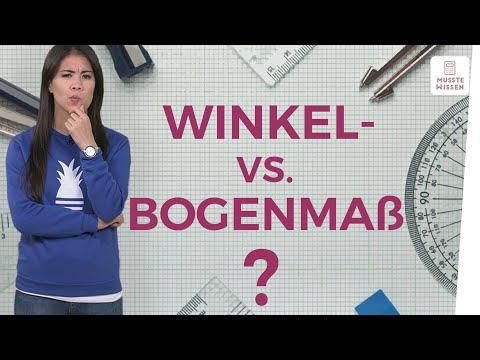 Cover: Winkelmaß und Bogenmaß I musstewissen Mathe - YouTube