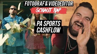 PA SPORTS   CASHFLOW  LIVE REACTION  FOTOGRAF & VIDEOEDITOR SCHAUT RAP