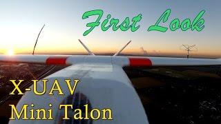 X-UAV Mini Talon - Vorstellung des FPV Wing