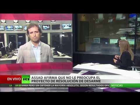 Assad: EE.UU., Francia y Reino Unido están luchando contra