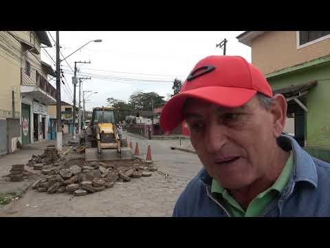 Prefeito Ayres Scorsatto faz Manutenção na Avenida Nossa Senhora Aparecida