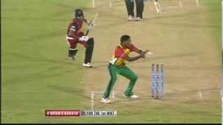 Highlights Match 11 - Trinidad & Tobago Red Steel vs Guyana Amazon Warriors