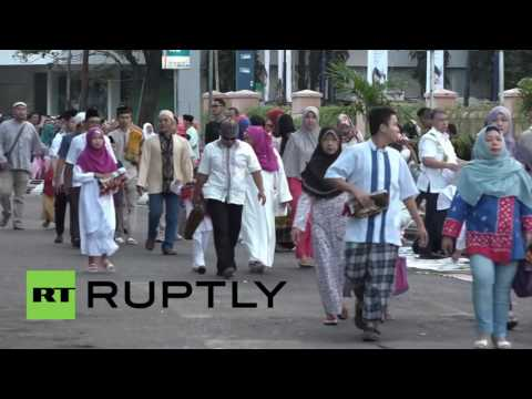 Indonesia: Muslims Celebrate First Day Of Eid Al-Fitr With Public Prayer