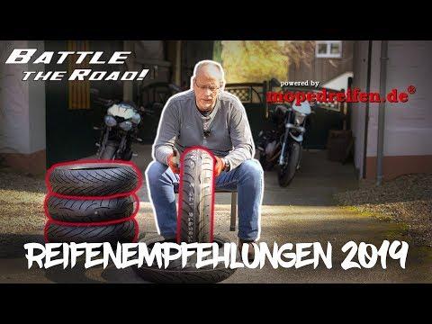 Motorrad-Reifenempfehlungen 2019 by mopedreifen.de