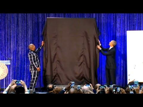 The Real Unveiling of Obama's New Portrait
