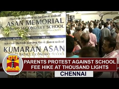 Parents-Protest-Against-School-Fee-Hike-at-Thousand-Lights-Chennai-Thanthi-TV