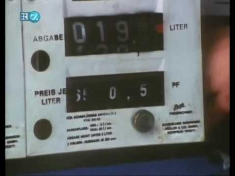 Der Aluminiumkanister für das Benzin im Großen