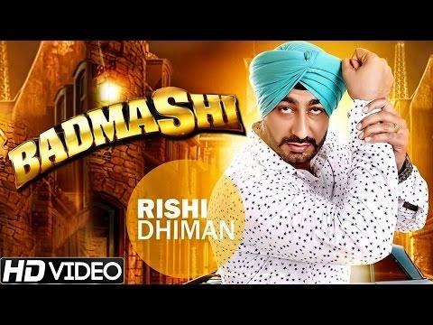 Badmashi  Rishi Dhiman