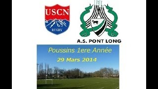 preview picture of video 'Rugby - Minimes USCN / PontLong [Mars 2014]'