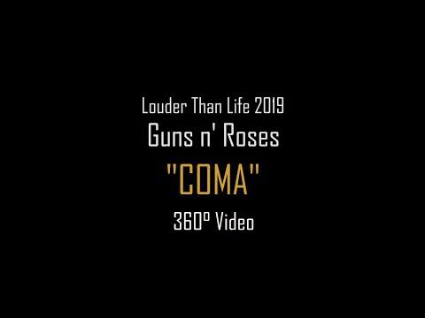 "Guns n' Roses ""Coma"" @ Louder Than Life 2019 360°"