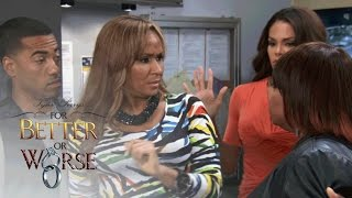 Jennifer And Keisha Have A Confrontation | Tyler Perry's For Better Or Worse | Oprah Winfrey Network