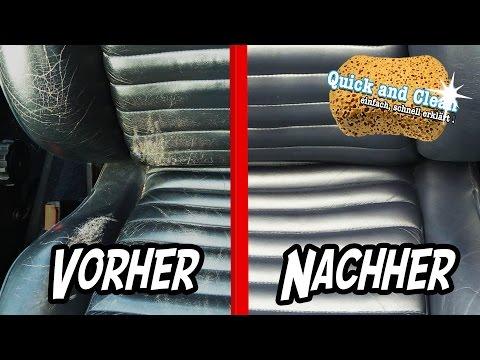 Anleitung : AUTOLEDER - REPARATUR und Färben | Quick & Clean Ep.4