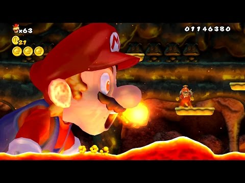New Super Bowser Wii - Final Boss Evil Mario & Ending