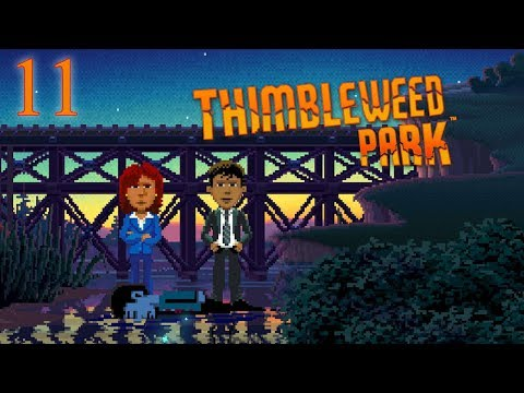 Thimbleweed Park - Point and Click Adventure - E11