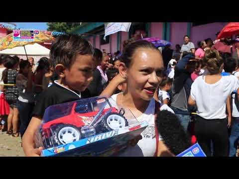 EPN entrega juguetes a niños de Puerto Sandino