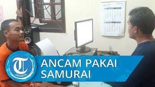 Tak Kunjung Bayar Uang Muka Beli Tokek, Penjual Arahkan Pedang Samurai ke Leher Konsumen di Malang