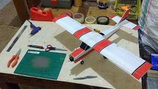 Roda Pesawat RC Simple Cessna WS 75cm