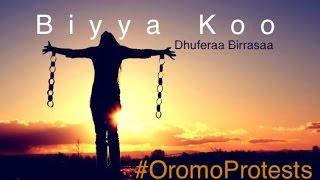 Biyya Koo: Dhufeera Birrasaa #OromoProtests ***Walaloo Afaan Oromo***