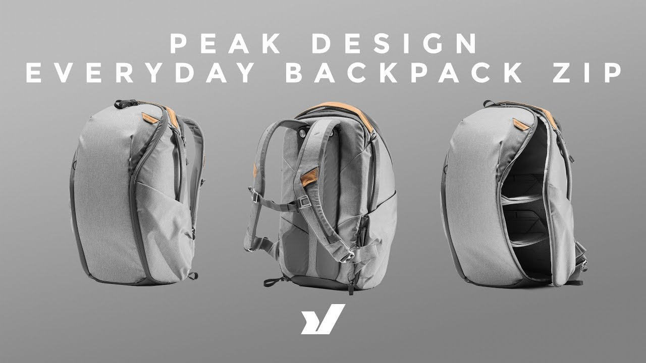 Peak Design Everyday backpack for photographer
