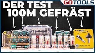 Die besten Fräser!? | Bosch, FAMAG & ENT im 100 Meter Langzeittest! Inkl. Verlosung