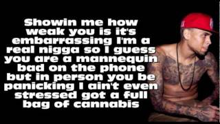 Chris Brown ft. Kevin McCall - Marvins Room (Remix) [Lyrics On Screen]