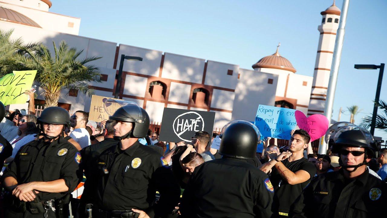 AJ+ PHX Mosque Protest