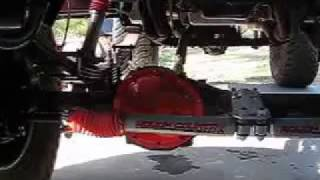 1984 Chevy K-10 Detailing front and rear suspension. Part 4