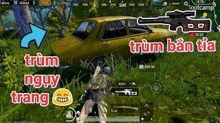 PUBG Mobile - Khi Trùm Bắn Tỉa Gặp Trùm Nằm Bụi :))   VSS Camp Thính Ăn Gần Chục Kills