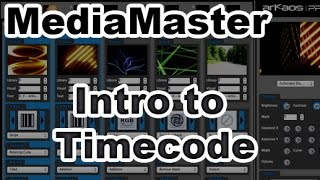 ArKaos MediaMaster Video Tutorial - 12. ArKaos MediaMaster Video Manuals - Timecode