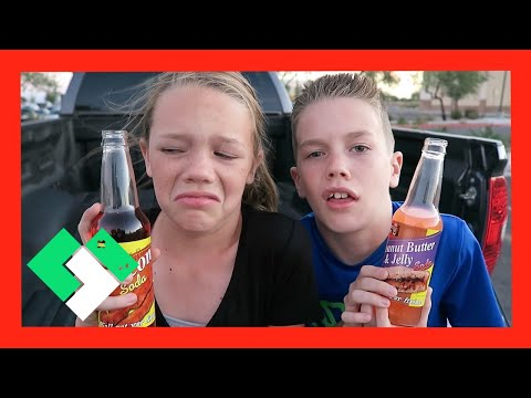 😷 KIDS DRINK GROSS SODAS 😷 (Day 1647) | Clintus.tv