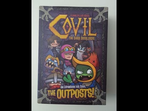 The Purge: # 1755 Covil: The Dark Overlords -- The Outposts: A small boxed expansion that adds one layer of strategy