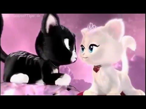 Детские песни из Мультфильмов. Котики танцуют!