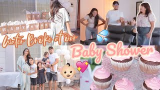 OUR BABY GIRLS BABY SHOWER 💖✨🎀 Pranking Our FAMILY Were Going Into LABOR!! 💦