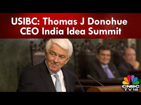 USIBC: Thomas J Donohue CEO India Idea Summit   Midcap Radar   CNBC-TV18
