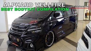 The Best Compilation Modified Bodykit of Vellfire Alphard - Nov 2016