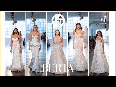 Berta 2020 collection | Barcelona bridal fashion week