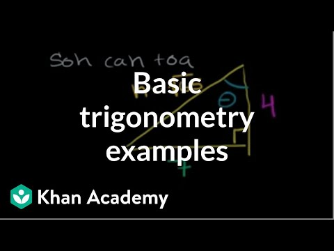 Trigonometric ratios in right triangles (video) | Khan Academy
