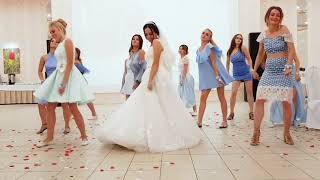 Флэшмоб на свадьбе. Свадьба цвета индиго #калмыкия #элиста