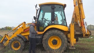 The Tractor broken down - Dima ride on power wheel plane to help man