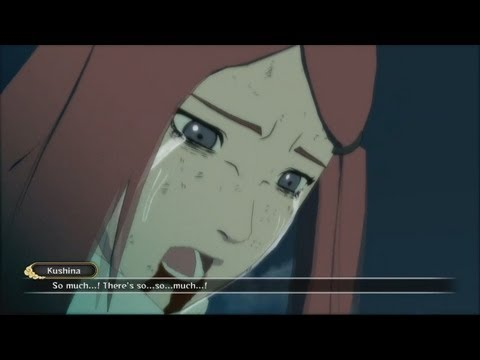 Naruto Shippuden Ultimate Ninja Storm 3 - Minato and Kushina's Death Cutscene