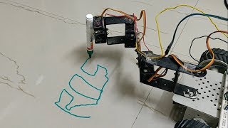 Inverse Kinematics and Trajectory Execution of a robot manipulator using ROS Moveit and Arduino.