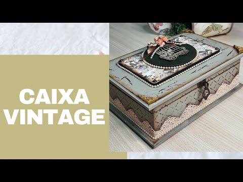 Caixa Vintage