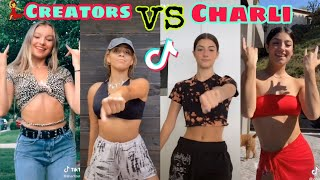 Dance Creators vs Charli D'amelio TikTok Compilation
