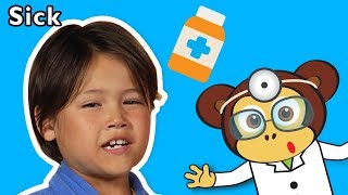 Sick and More   KIDS PRETEND PLAY   Baby Songs from Mother Goose Club!