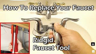 How To Replace Your Faucet - Ridgid Sink Installer Multitool