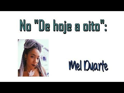 Mel Duarte no De Hoje a 8 | Passos entre Linhas