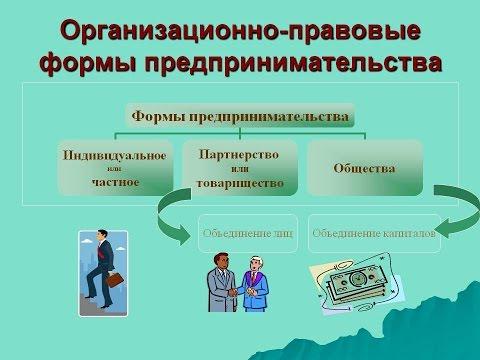 Редкие организационно правовые формы предприятий