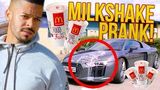 BILLY SAVAGE MILKSHAKE PRANK ON JEREMY LYNCH!