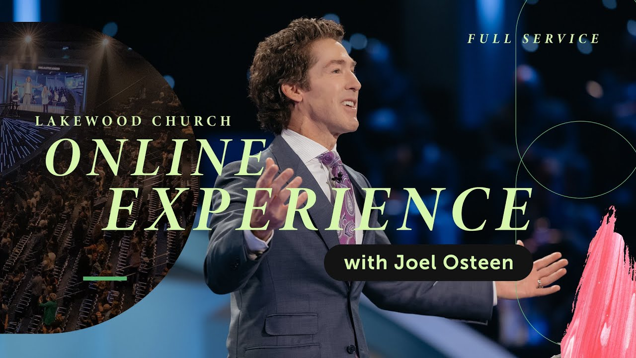 Lakewood Church: Joel Osteen Sunday 28th March 2021 Live Service