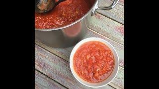 My Italian Grandmother's Marinara Sauce